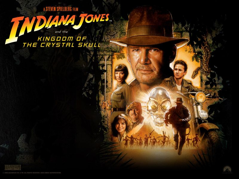Indiana Jones The Kingdom Of The Crystal Skull 2008 Movies Reference